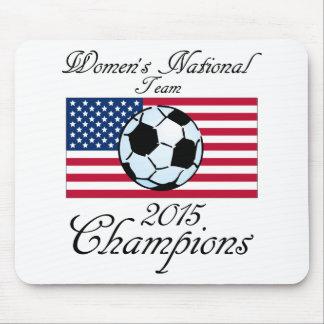 Equipo del fútbol nacional de 2015 mujeres de los alfombrillas de ratones