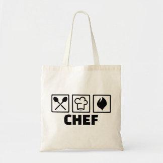 Equipo del gorra del cocinero del cocinero bolsas de mano