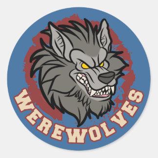 Equipo del hombre lobo etiquetas