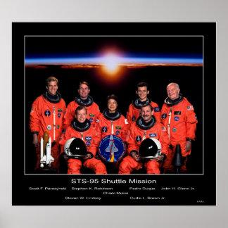 Equipo del misión en la que participa un trasborda poster
