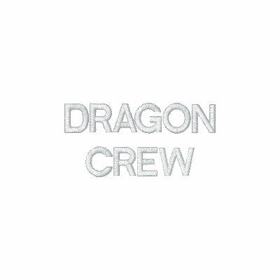 Equipo del navegante del dragón camiseta polo bordada