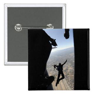 Equipo del paracaídas de la academia de fuerza pin cuadrada 5 cm