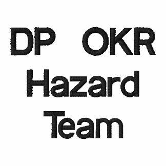 Equipo del peligro del DP OKR Polo Bordado