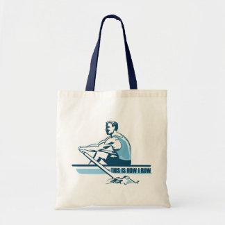 Equipo del Rowing Bolsa Tela Barata