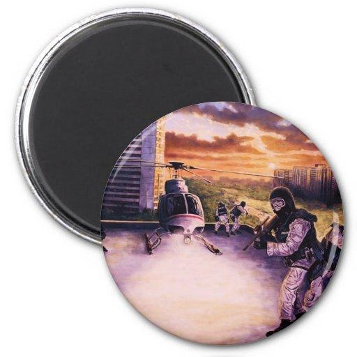 Equipo del Tac para el colmillo Imán Redondo 5 Cm