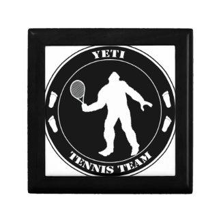 Equipo del tenis de Yeti Cajas De Regalo