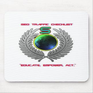 Equipo del tráfico de SEO (cojín de ratón) Tapetes De Raton