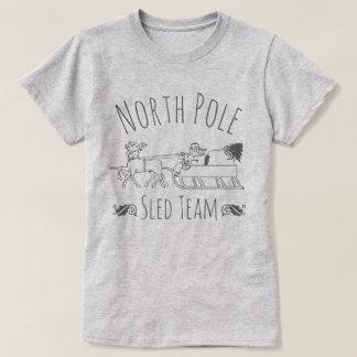 Equipo del trineo de Polo Norte
