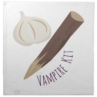 Equipo del vampiro servilleta