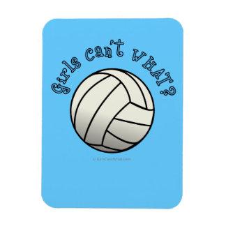 Equipo del voleibol de los chicas iman flexible