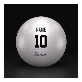 Equipo del voleibol fotografía