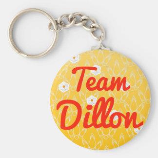 Equipo Dillon Llavero Personalizado