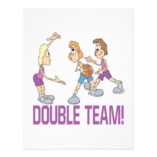 "Equipo doble folleto 8.5"" x 11"""