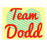Equipo Dodd Postales