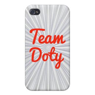 Equipo Doty iPhone 4 Carcasas