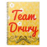 Equipo Drury Cuadernos