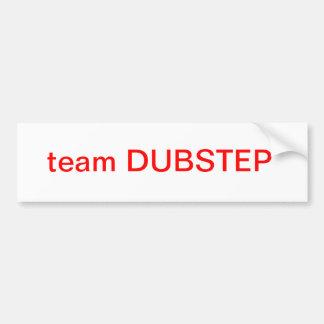 equipo DUBSTEP Pegatina Para Auto