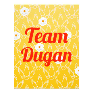 Equipo Dugan Tarjeta Publicitaria