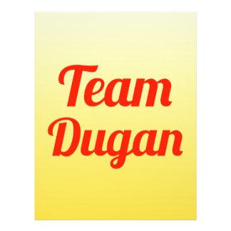 Equipo Dugan Tarjetones