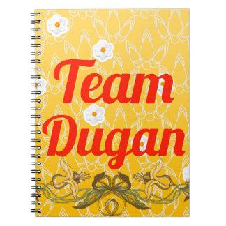 Equipo Dugan Libretas Espirales