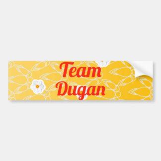Equipo Dugan Pegatina Para Auto