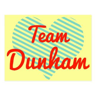 Equipo Dunham Postales