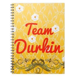 Equipo Durkin Spiral Notebooks