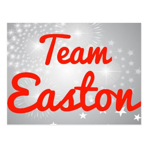 Equipo Easton Tarjetas Postales