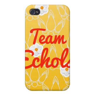 Equipo Echols iPhone 4 Protectores
