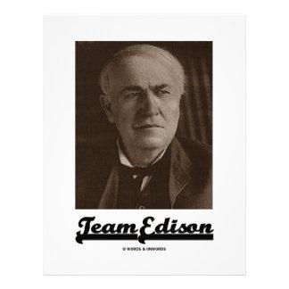 Equipo Edison (Thomas Alva Edison) Membrete