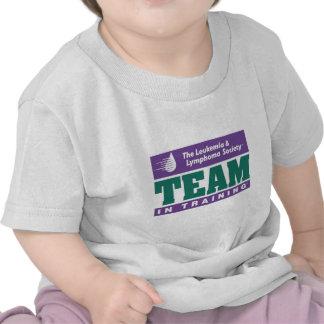 Equipo en ropa del entrenamiento camisetas