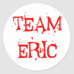 Equipo Eric Etiqueta Redonda