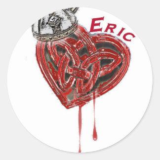 Equipo Eric Etiquetas Redondas
