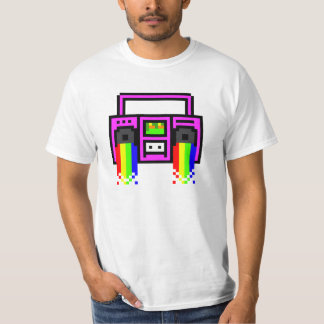 Equipo estéreo portátil de 8 pedazos camisas