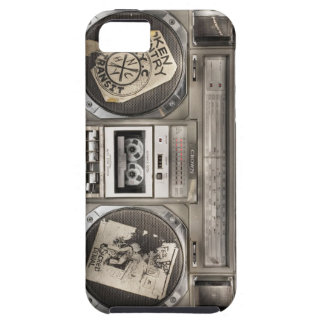 Equipo estéreo portátil de Hip Hop iPhone 5 Carcasa