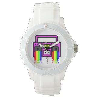 Equipo estéreo portátil de ocho bites relojes de pulsera