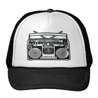 Equipo estéreo portátil gorras