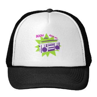 Equipo estéreo portátil gorras de camionero