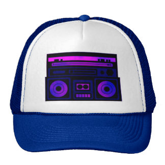 Equipo estéreo portátil gorra
