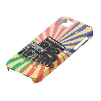 Equipo estéreo portátil y casetes retros iphone5 iPhone 5 Case-Mate coberturas