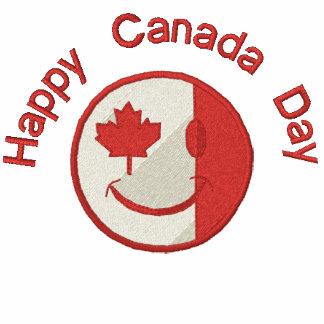 Equipo feliz canadiense de la cara Eh