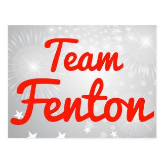 Equipo Fenton Postales