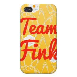 Equipo Fink iPhone 4 Funda