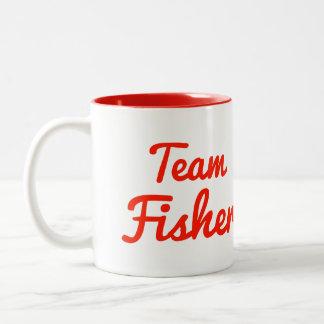 Equipo Fisher Taza De Dos Tonos