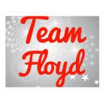 Equipo Floyd Tarjeta Postal