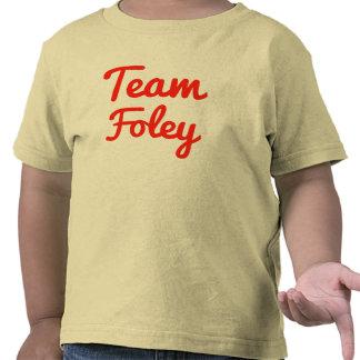 Equipo Foley Camisetas