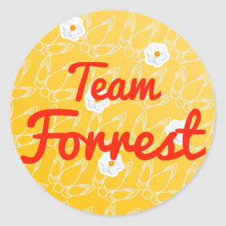 Equipo Forrest Pegatinas