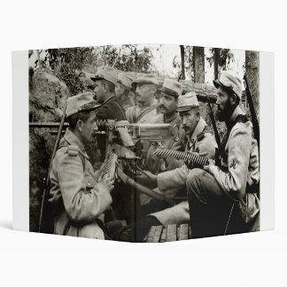 """Equipo francés de la ametralladora de WWI Carpeta 1"""""""
