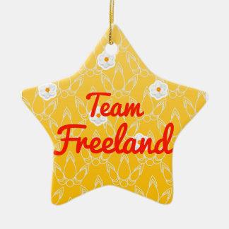 Equipo Freeland Adorno De Cerámica En Forma De Estrella