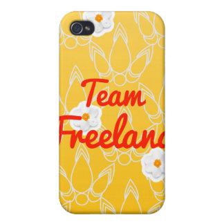 Equipo Freeland iPhone 4 Coberturas